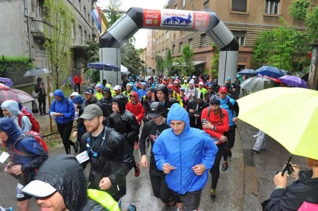 Pokret za radost na prvoj gradskoj utrci Zagreb Trail
