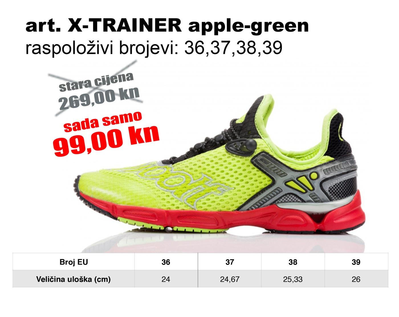X-TRAINER apple