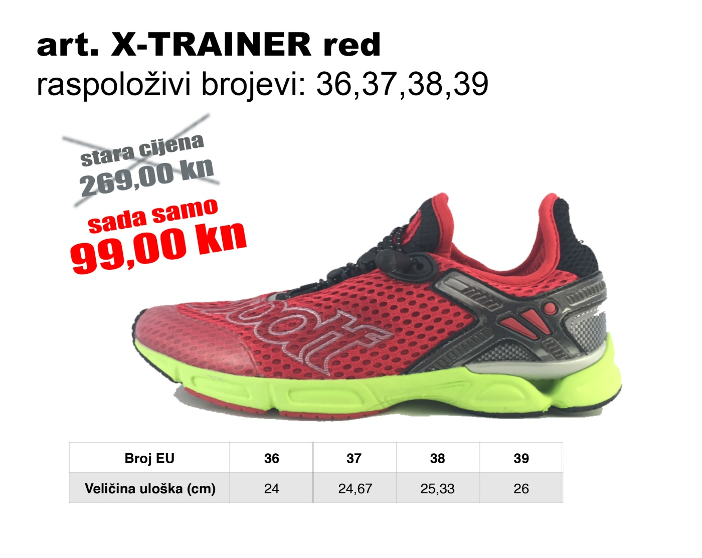 X-TRAINER red3
