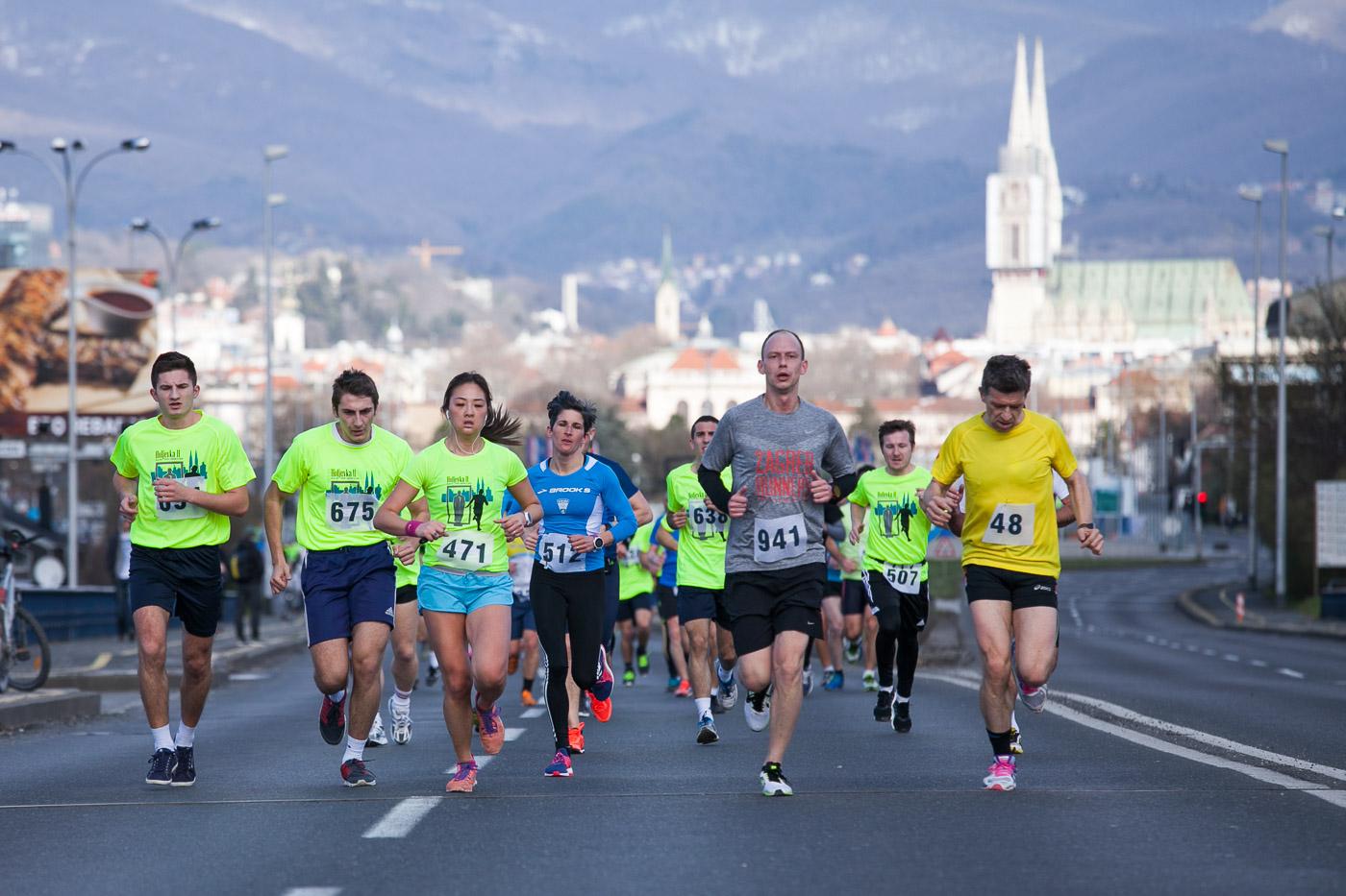 [FOTO] Otrčana Holjevka – užitak trčanja s pogledom na Sljeme
