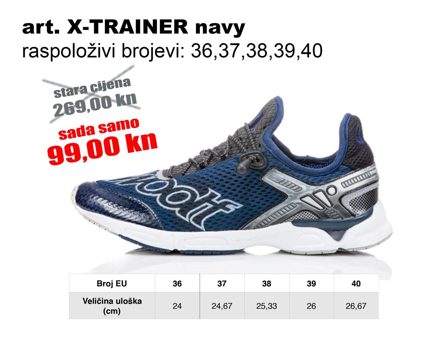 X-TRAINER NAVY2