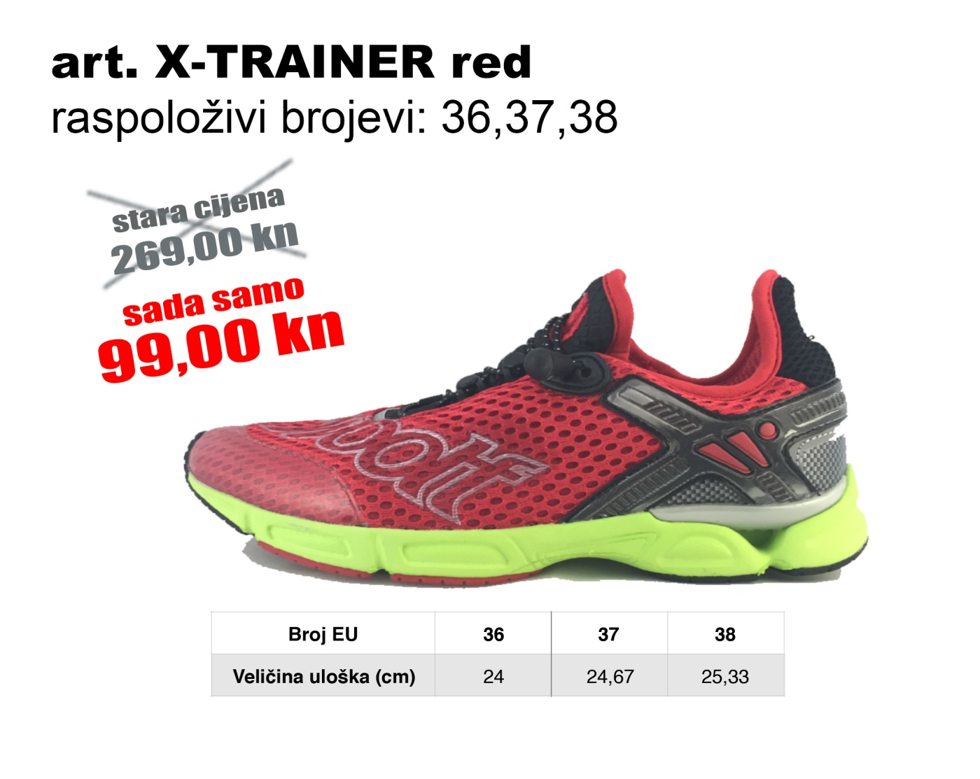 X-TRAINER red2