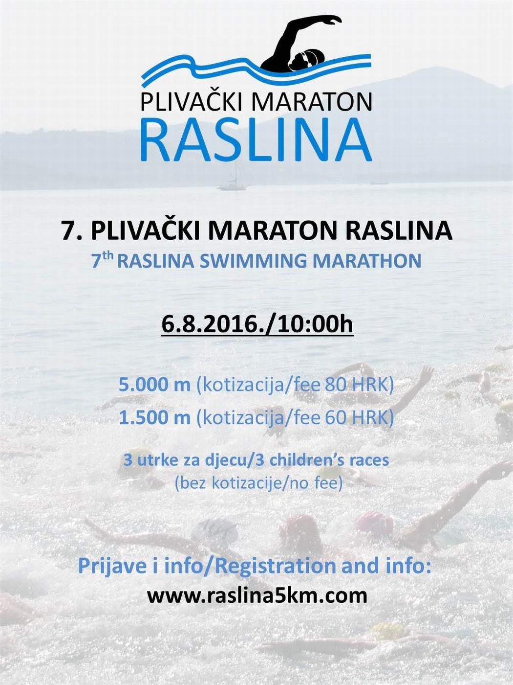 7. PM RASLINA - Plakat