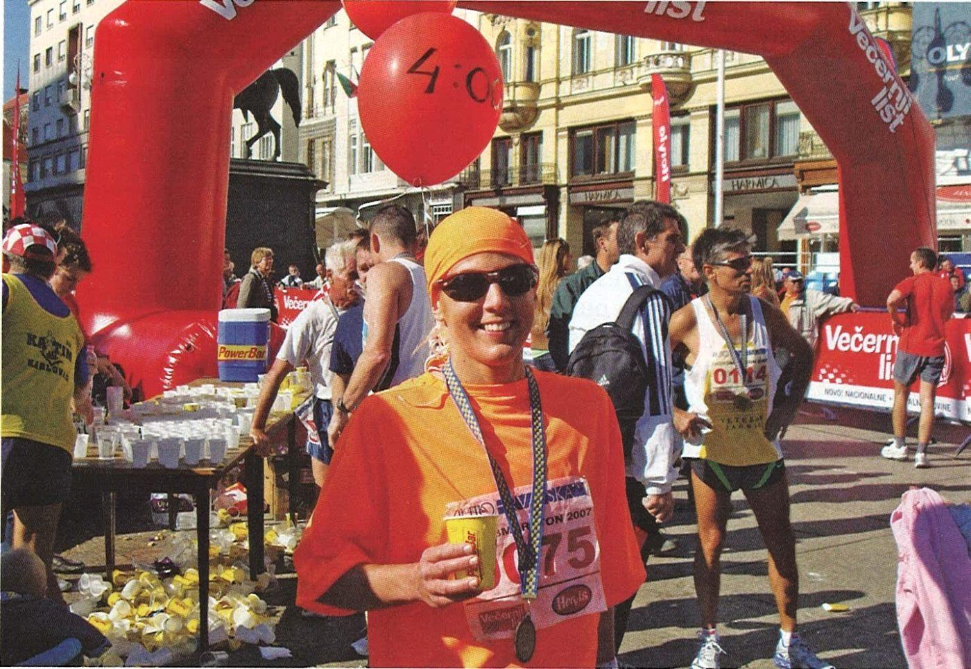 Zagreb maraton 2007. godine.