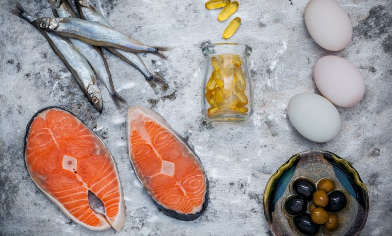 Selection Food Sources Of Omega 3 And Unsaturated Fats. Superfoo