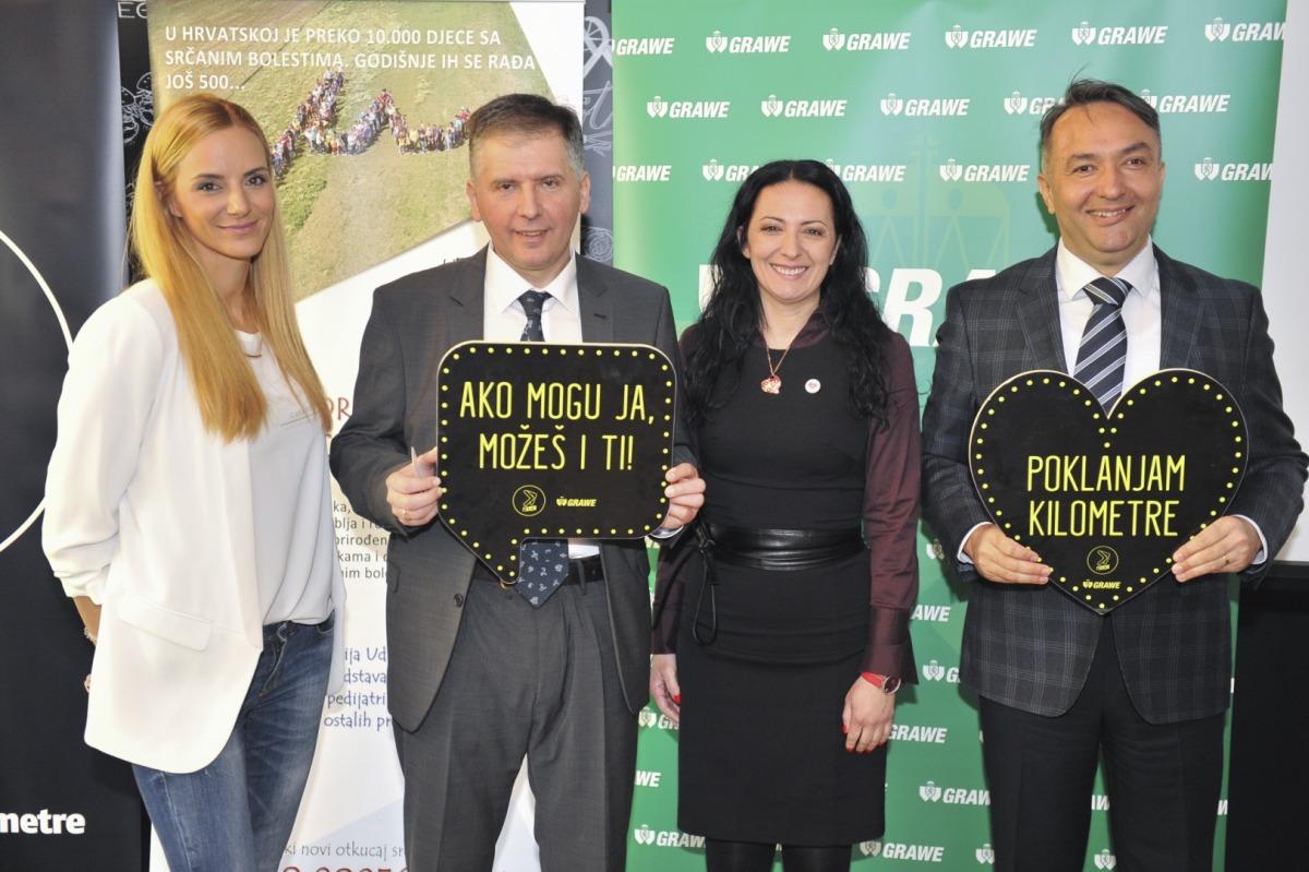 Sanja Grzetic, GRAWE, dr. Drazen Belina i Barbara Vidovic Brzaj iz udruge, Igor Pureta, GRAWE