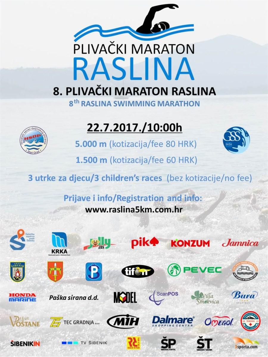 8. PM RASLINA - Plakat