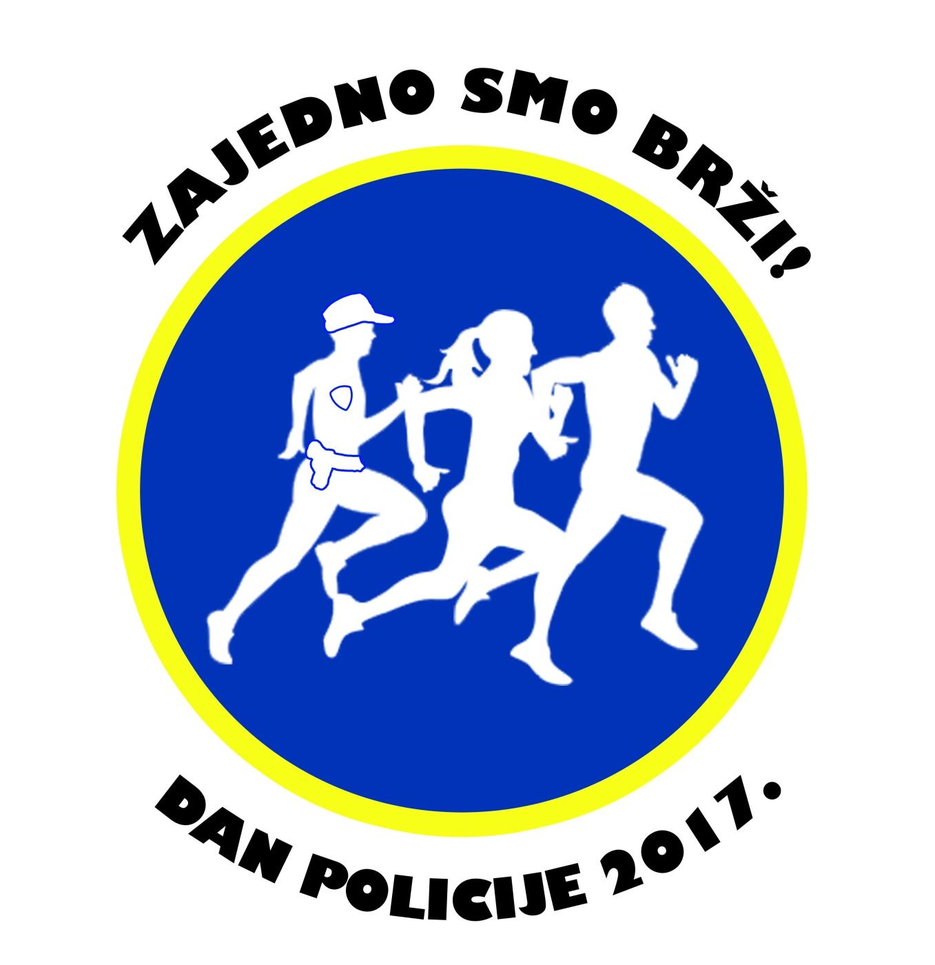 logo utrka dan policije